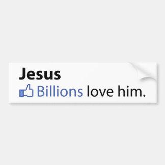 Jesus Bumper Sticker
