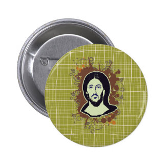 Jesus by Christian stores Pinback Button