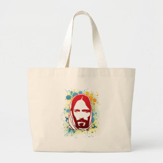 Jesus by Christian stores Tote Bag