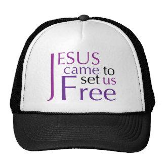Jesus came-01.png trucker hat