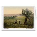 Jesús caminó aquí: Cana, Galilea Tarjeton