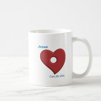 Jesus can Fix it Coffee Mug