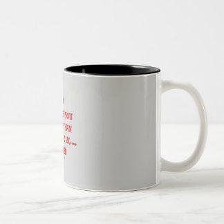 JESUS can take you HIGHER....Heaven Two-Tone Coffee Mug