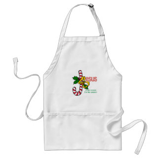 Jesus Candy Cane Adult Apron