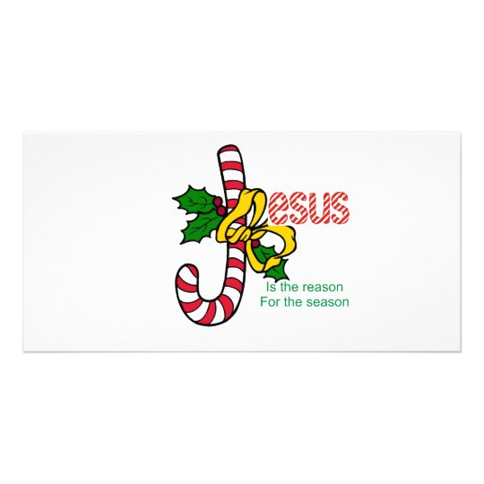 Jesus Candy Cane Card