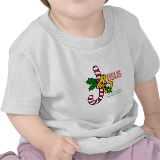 Jesus Candy Cane Infant T-shirt