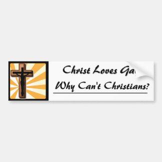 Jesus Car Bumper Sticker