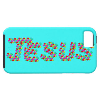 JESÚS - caras sonrientes Funda Para iPhone 5 Tough