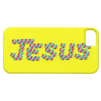 JESÚS - caras sonrientes iPhone 5 Funda
