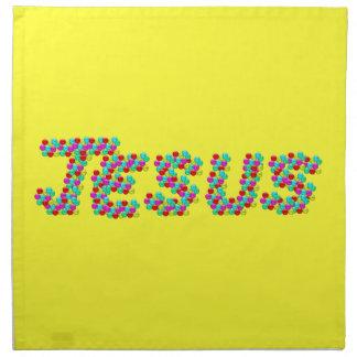 JESÚS - caras sonrientes Servilleta