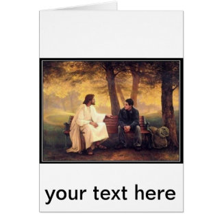 Jesus Cares For Me Card