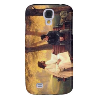 Jesus Cares For Me Galaxy S4 Cover