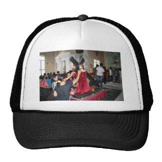 Jesus carries the cross trucker hat
