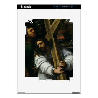 Jesus Carrying the Cross, c.1535 (oil on panel) iPad 3 Decals