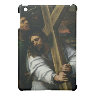 Jesus Carrying the Cross, c.1535 (oil on panel) iPad Mini Cover