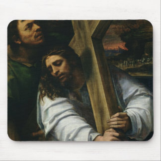 Jesus Carrying the Cross, c.1535 (oil on panel) Mouse Pad