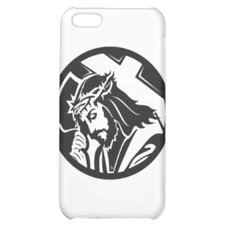 Jesus Carrying The Cross iPhone 5C Case