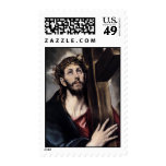 Jesus Carrying The Cross Postage