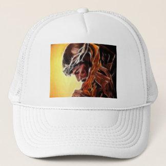 Jesus Carrying The Cross Trucker Hat