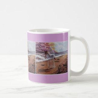 JESUS CARRYING WOMAN, COFFEE MUG