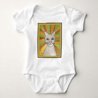 Jesus Cat Superstar Baby Bodysuit
