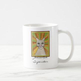 Jesus Cat Superstar Coffee Mug