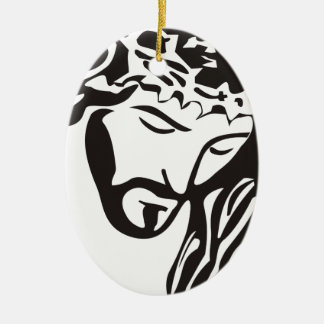 Jesus Ceramic Ornament