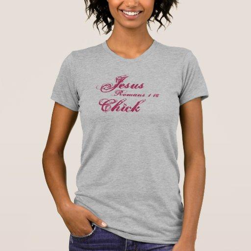 Jesus Chick, Romans 1:16 Tshirt