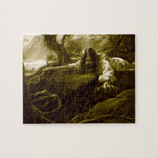 Jesus Christ Agony in the Garden of Gethsemane Jigsaw Puzzles