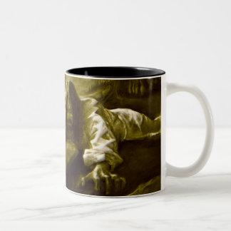 Jesus Christ Agony in the Garden of Gethsemane Two-Tone Coffee Mug