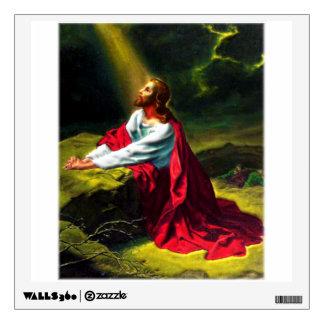 Jesus Christ Agony in the Garden of Gethsemane Wall Sticker