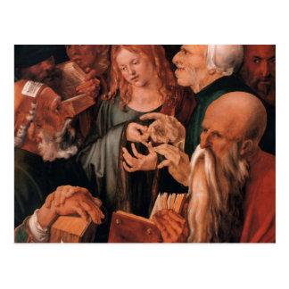 Jesus Christ among the Doctors Postcard