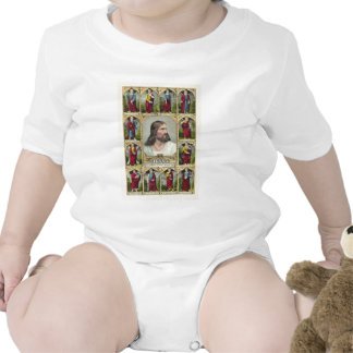 Jesus Christ and the Twelve Apostles Christianity Baby Bodysuit