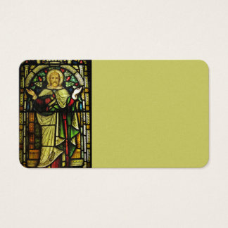 Jesus Christ Arms Outstretched Business Card