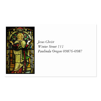 Jesus Christ Arms Outstretched Double-Sided Standard Business Cards (Pack Of 100)