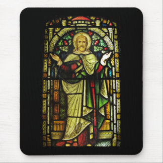 Jesus Christ Arms Outstretched Mouse Pad