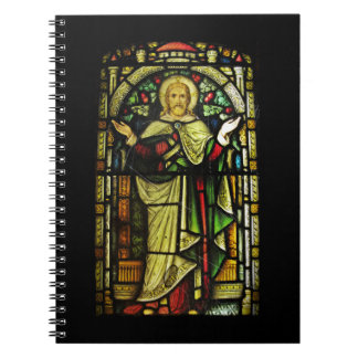 Jesus Christ Arms Outstretched Spiral Notebook