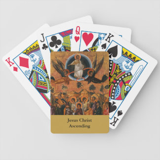 Jesus Christ Ascending to Heaven Bicycle Playing Cards
