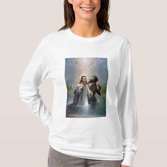 Jesus Christ Baptism by John the Baptist T-Shirt