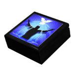 JESUS CHRIST BAPTISM & DOVE BOX TRINKET BOXES