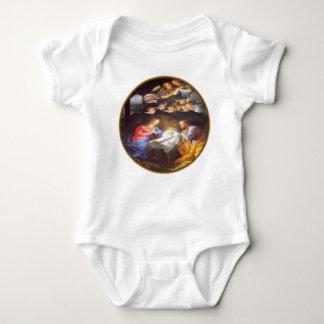 JESUS CHRIST BIRTH BABY BODYSUIT