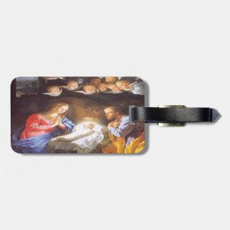 JESUS CHRIST BIRTH TAG FOR LUGGAGE