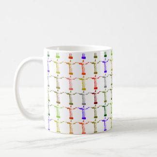 Jesus Christ color pattern Coffee Mug