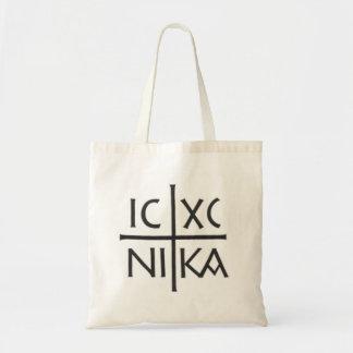 Jesus Christ Conqueror Budget Tote Bag