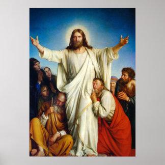 Jesus Christ Consolation Poster