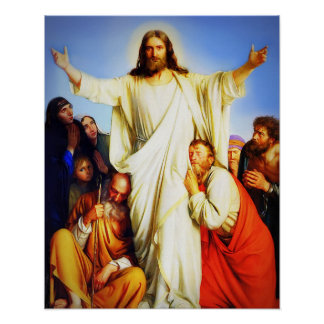 Jesus Christ Consoler Poster