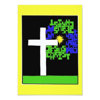 Jesus Christ Cross Card