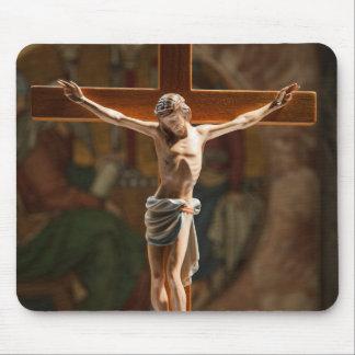 Jesus Christ cross Mouse Pad