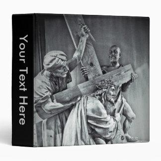 Jesus Christ & Cross Notebook Binder