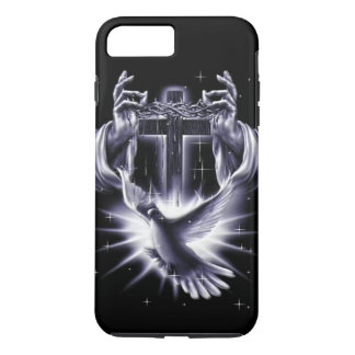 Jesus Christ Crown of Thorns and Dove iPhone 8 Plus/7 Plus Case